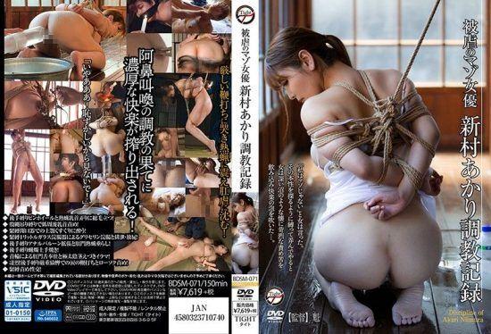 [BDSM-071] Breaking In Record Of Masochist Actress Akari Niimura